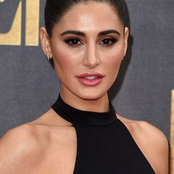 BEST DOUBLE BUN: Here is former ANTM contestant and Bollywood actress Nargis Fakhri from the front...