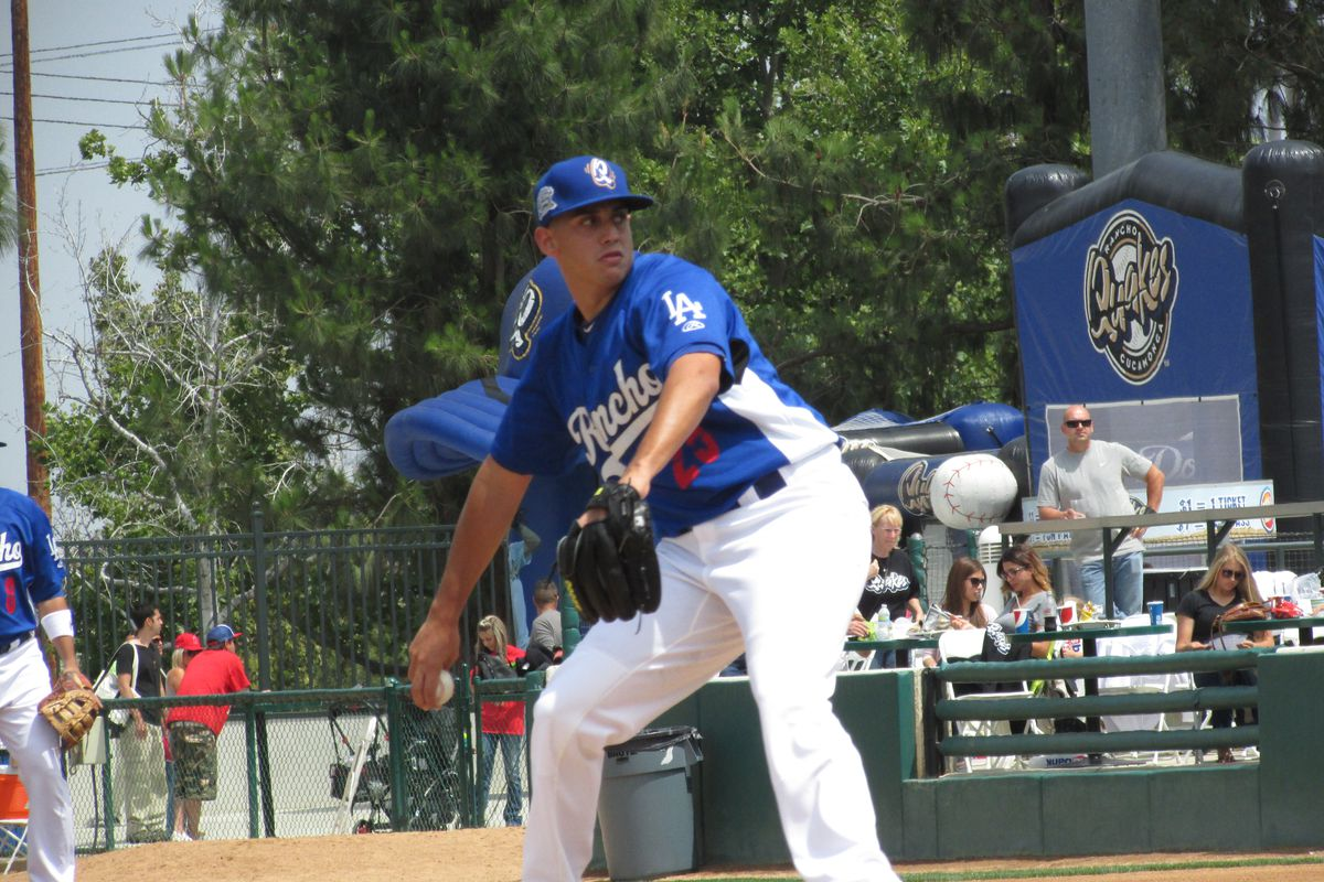 Jose De Leon, seen here with the Quakes, was outstandin for Tulsa on Friday