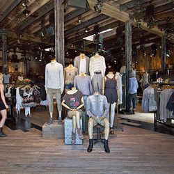 """Finally, end your day at U.K. retailer <a href=""""http://us.allsaints.com"""">AllSaints</a> mecca of minimalist coolness (100 N. Robertson Blvd.), where you'll find edgy basics, luxe leathers and more gothtastic goods for men and women. There's also generous 4"""