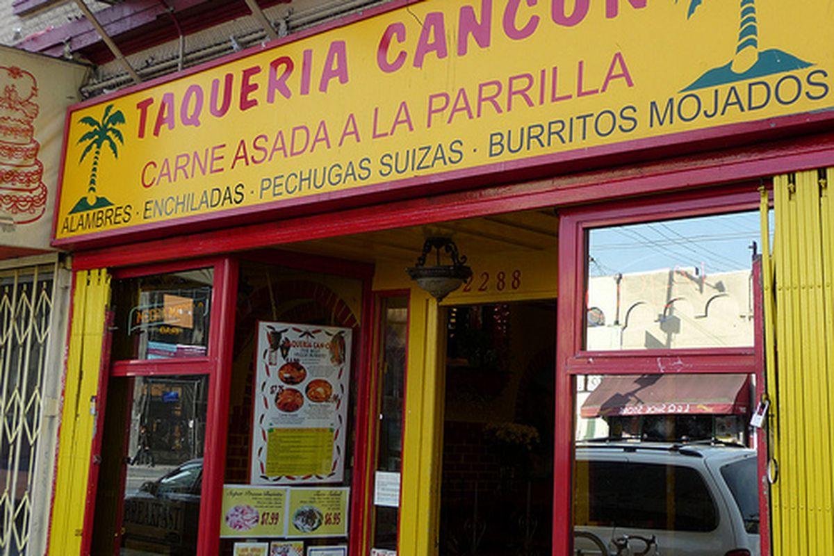 Taqueria Cancun.