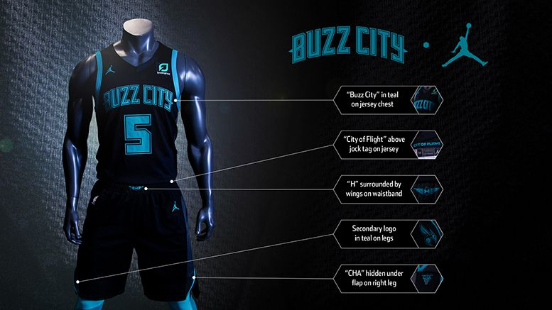 Charlotte Hornets Unveil New City Jerseys At The Hive