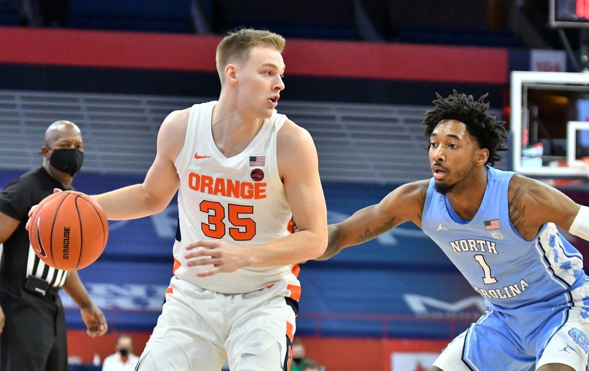 NCAA Basketball: North Carolina at Syracuse