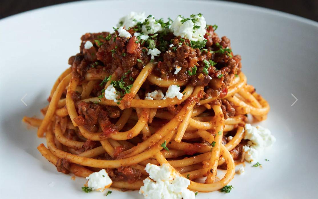 Lamb pasta at Novy