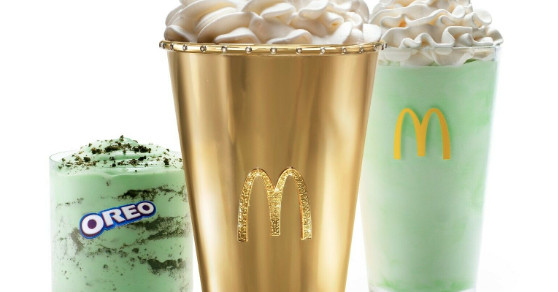 McDonald's auctioning $90,000 'Golden Shamrock Shake' cup for charity