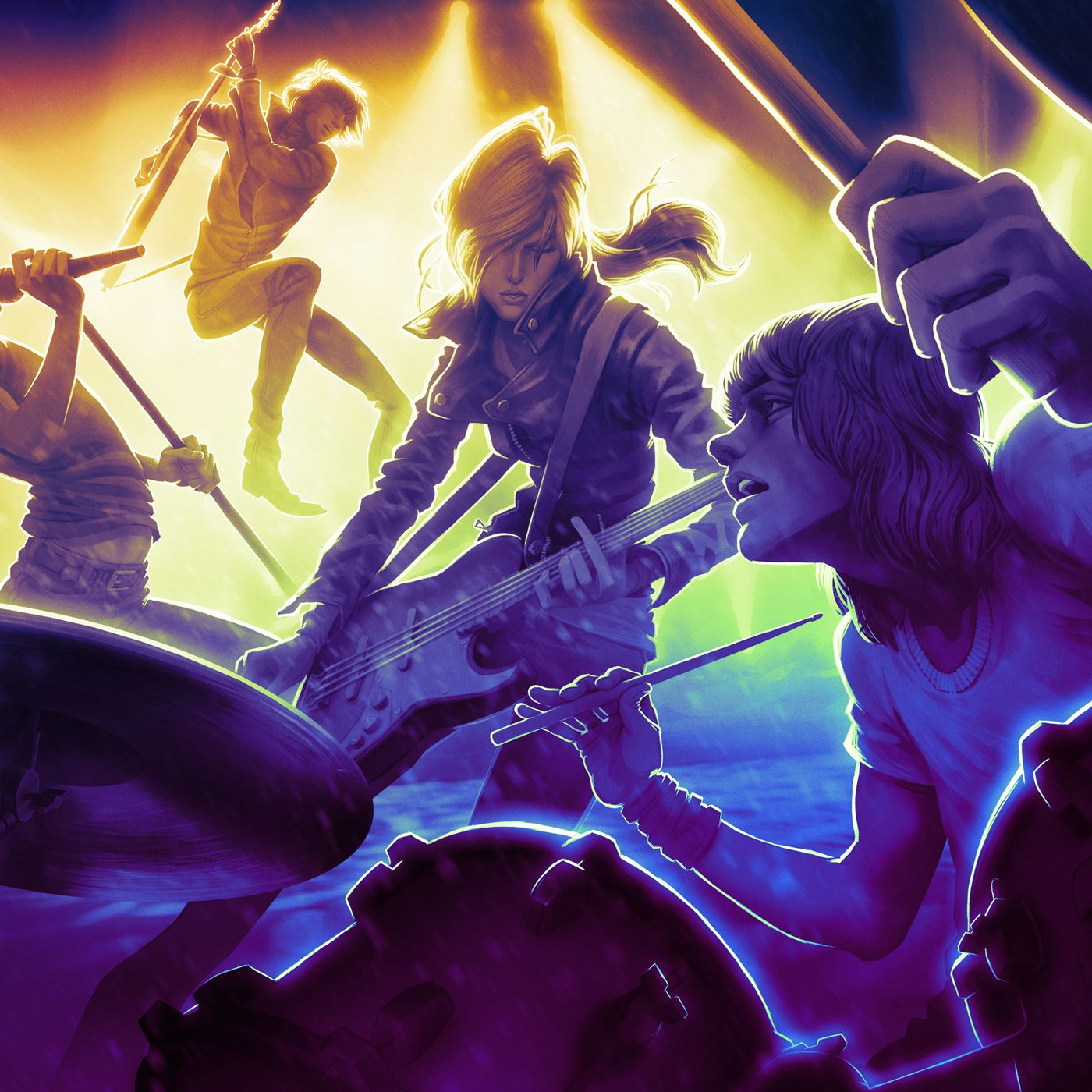 Rock Band 4 is coming this year for Xbox One and PlayStation