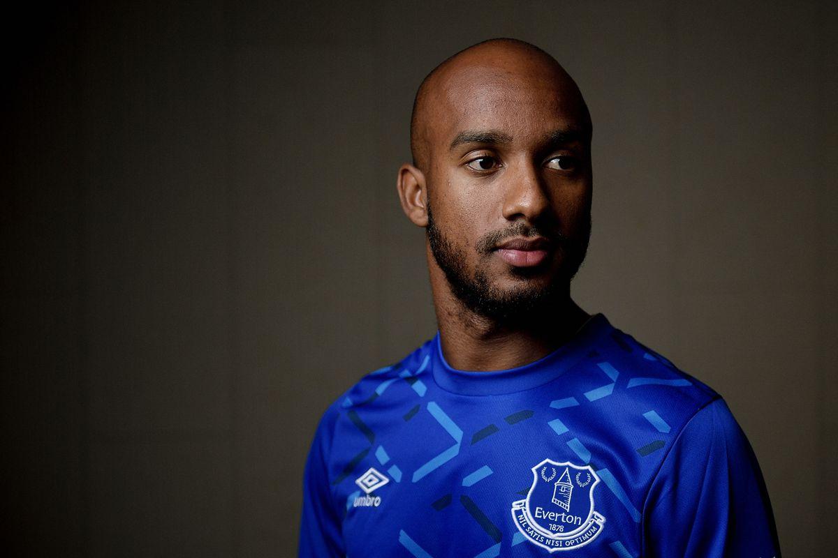 Everton Unveil new Signing Fabian Delph