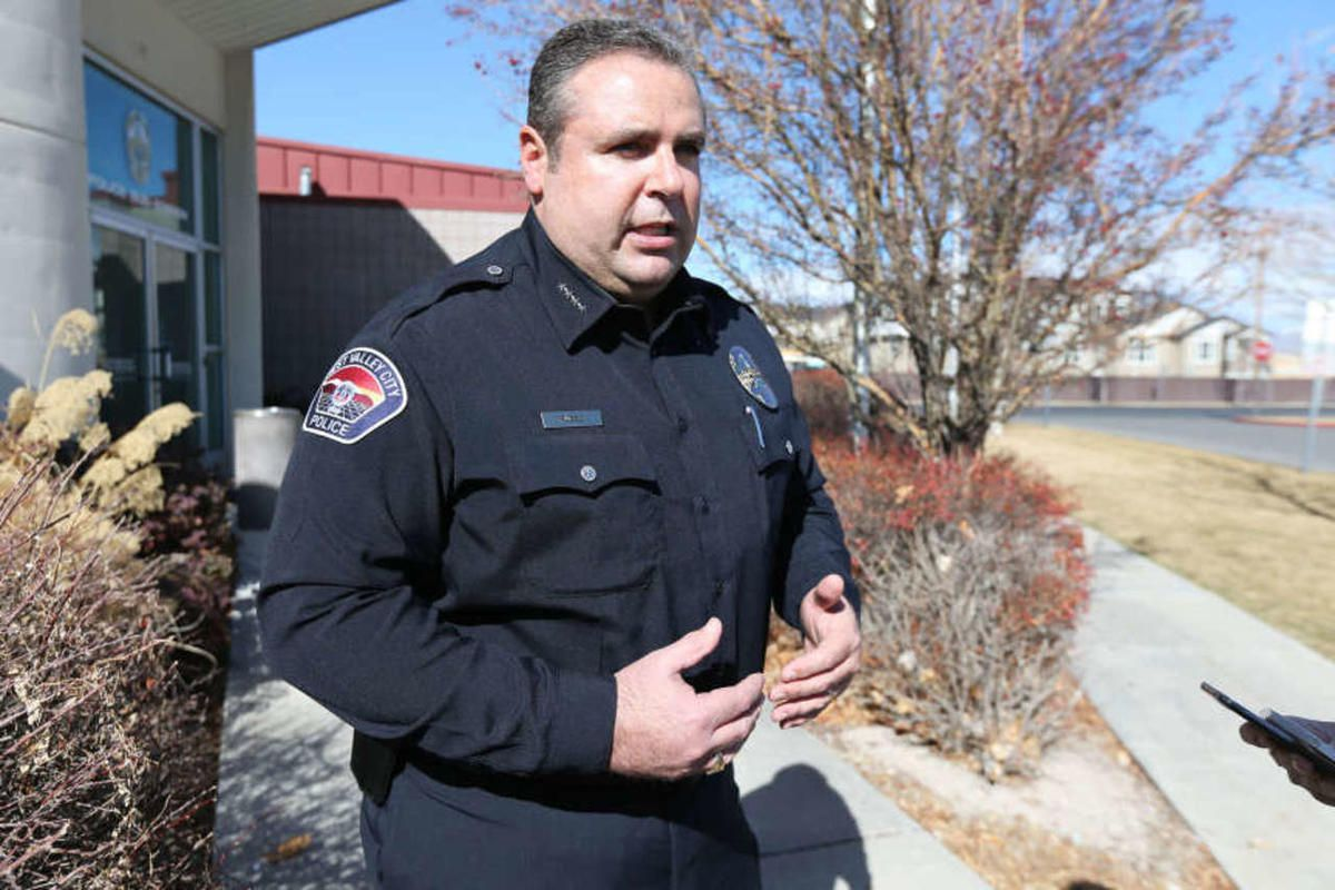 West Valley City Police Chief Lee Russo, talks Wednesday, Feb. 25, 2015. West Valley City officials have announced a new incentive program aimed at getting more police officers to live in the city they serve and protect.