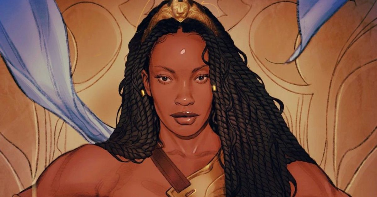 DC Comics celebrates Wonder Woman's 80th Anniversary with Queen Nubia