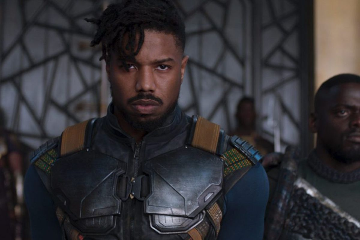 Image result for michael b jordan black panther