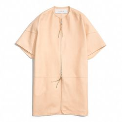 """<a href=""""http://f.curbed.cc/f/Coach_031014_BonnieCoat"""">Leather Bonnie Coat in Vachetta</a>, $1,998"""