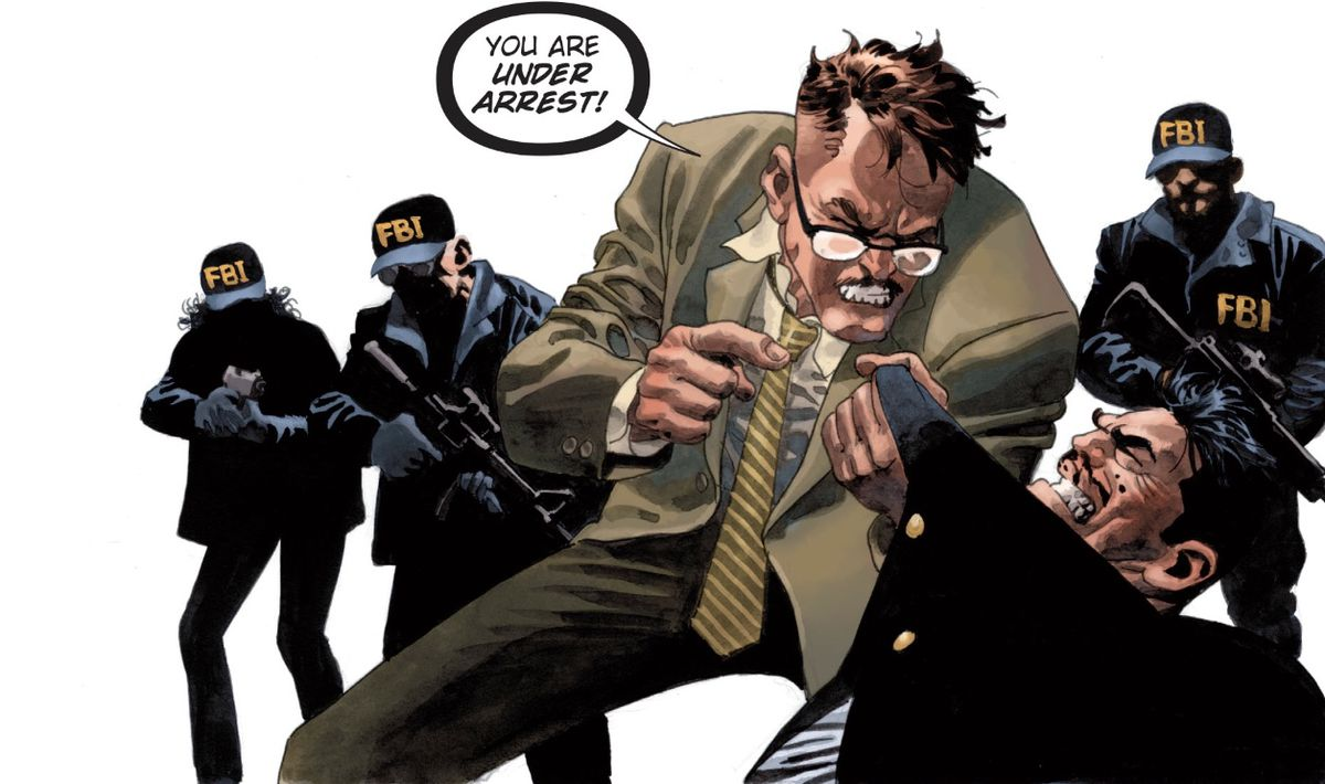 From The Batman Who Laughs: The Grim Knight #1, DC Comics (2019).