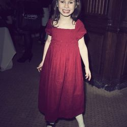 """""""I'd say, probably just a casual dress."""" Ellie Barthel, age 6"""
