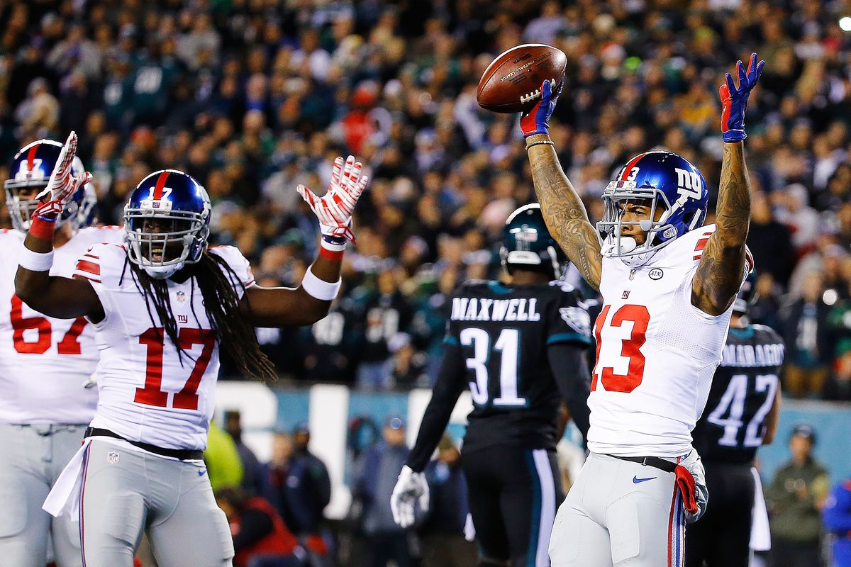 Odell Beckham can't celebrate touchdowns without getting the ball