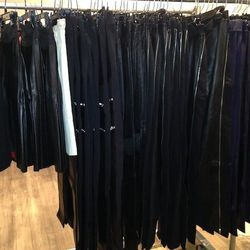 Leather Pants, $300 and Skirts, $200
