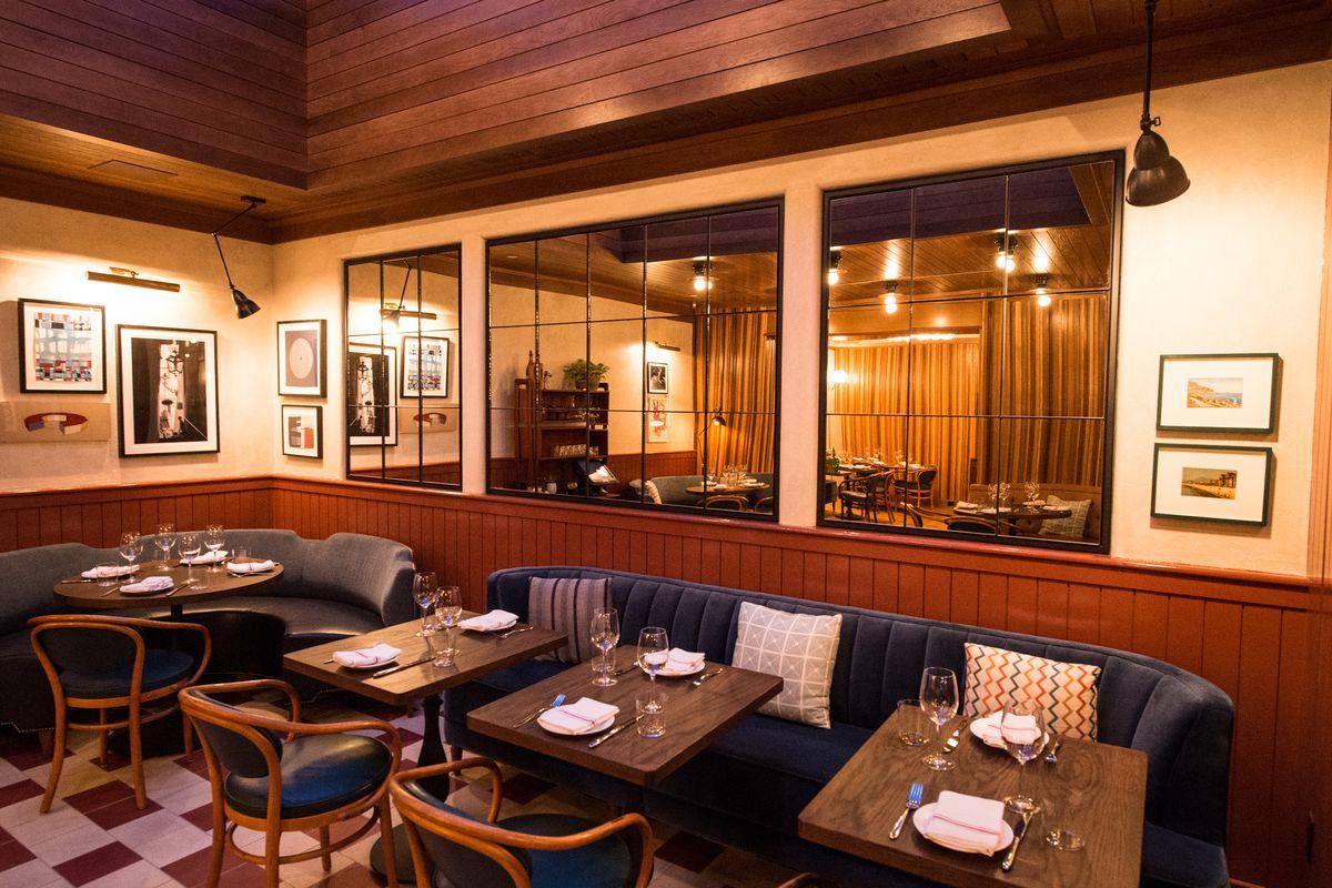 The dining room at Sessanta
