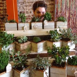 """<a href=""""http://instagram.com/refind"""">@refind</a>: Sure, the succulents inside might perish under the care of your less-than-green thumb, but Refind's use of reclaimed, upcycled planters will help assuage your guilt."""