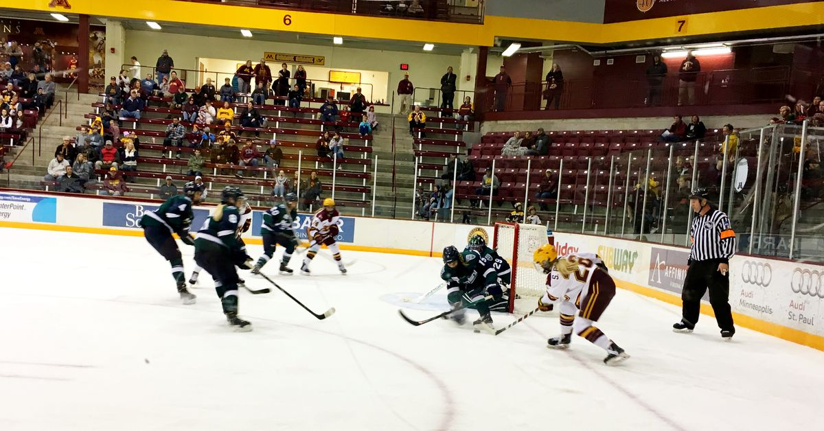 Minnesota Gophers Finish Mercyhurst Lakers Sweep With A