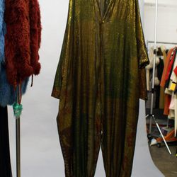 A shimmery jumpsuit for New Year's Eve, anyone?