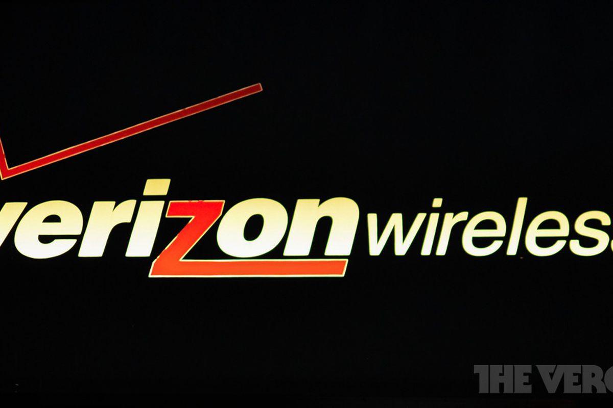 Verizon Wireless Neon Logo Stock 1020