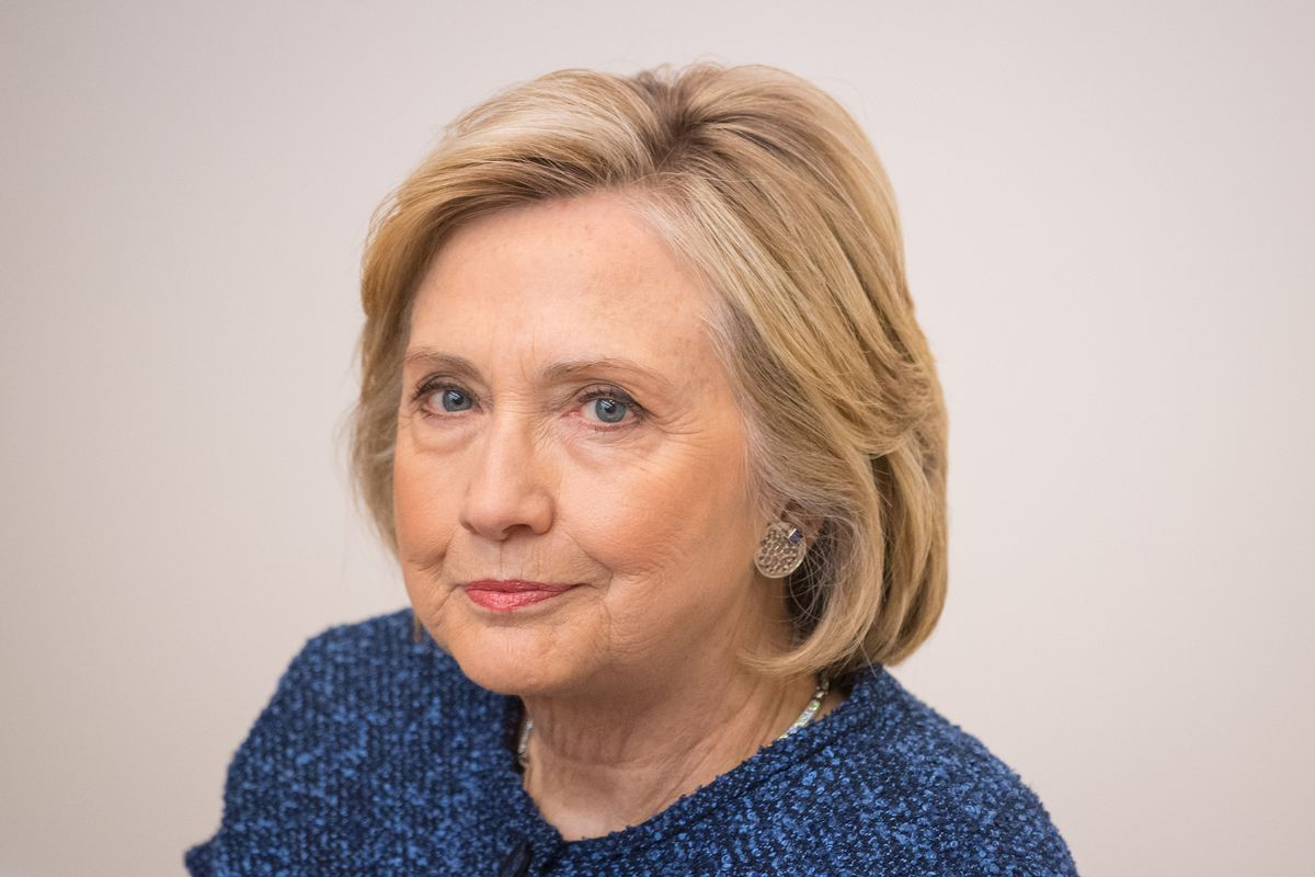 could hillary clinton really be thinking about another presidential