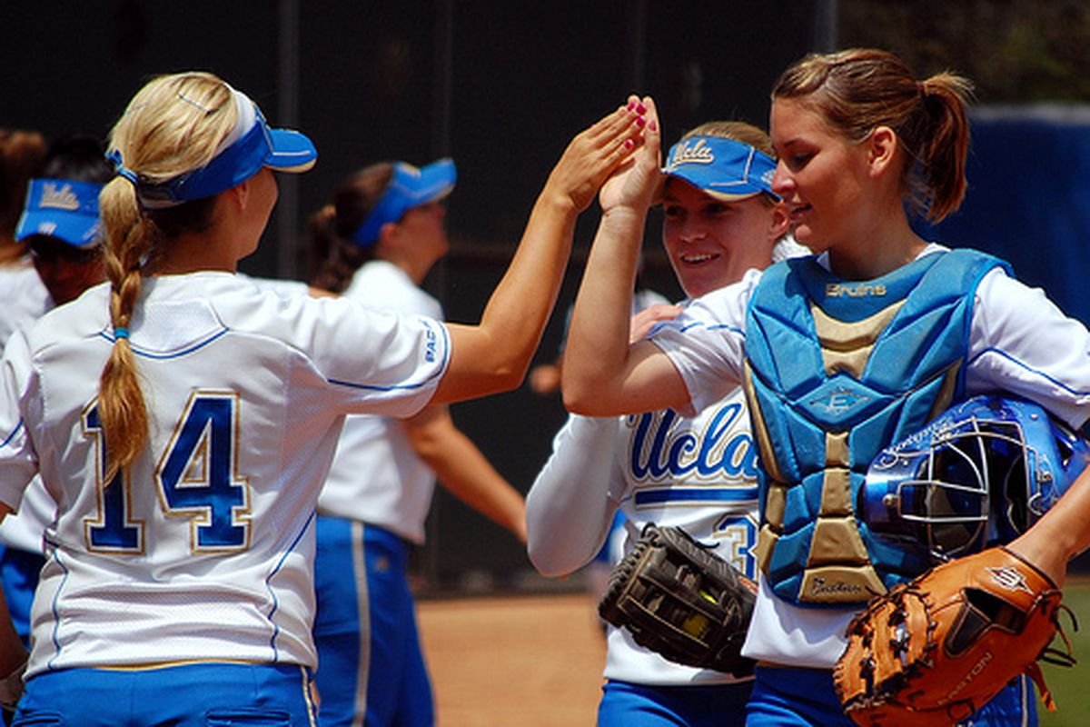 "<em>Photo Credit: <a href=""http://www.flickr.com/photos/uclasoftball/4596722351/"" target=""new"">UCLA Softball (Flickr)</a></em>"