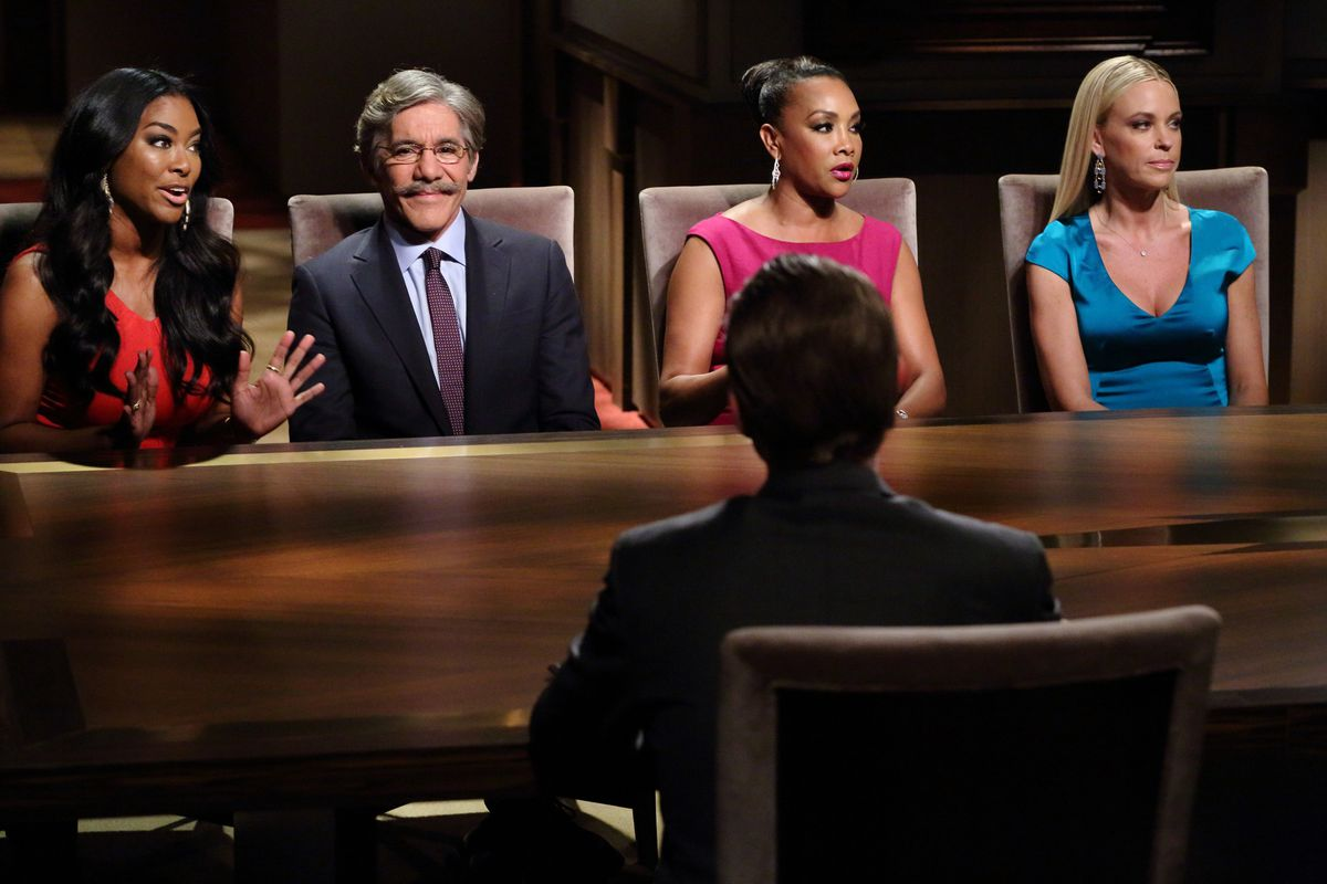 Fox with other contestants on 'The Celebrity Apprentice' (NBC)
