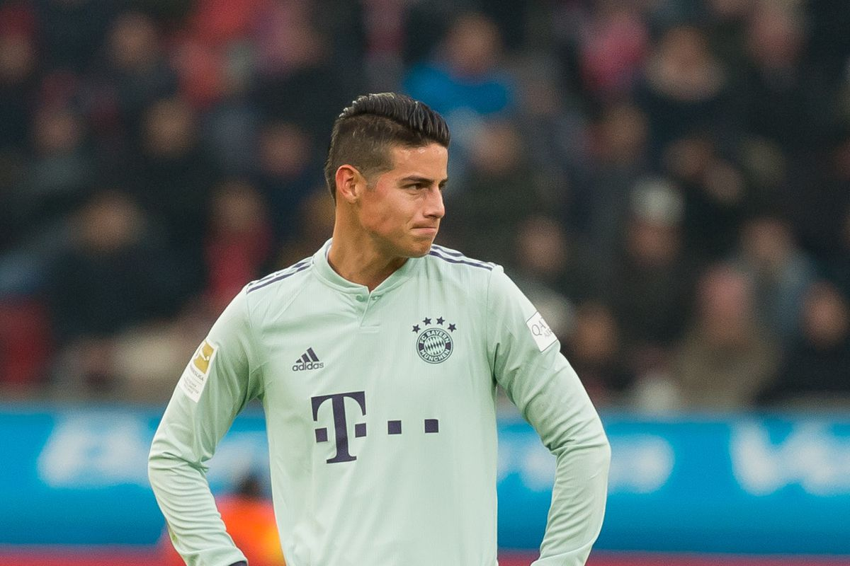 size 40 3063f 21ab7 James Rodriguez tight-lipped about his future at Bayern ...