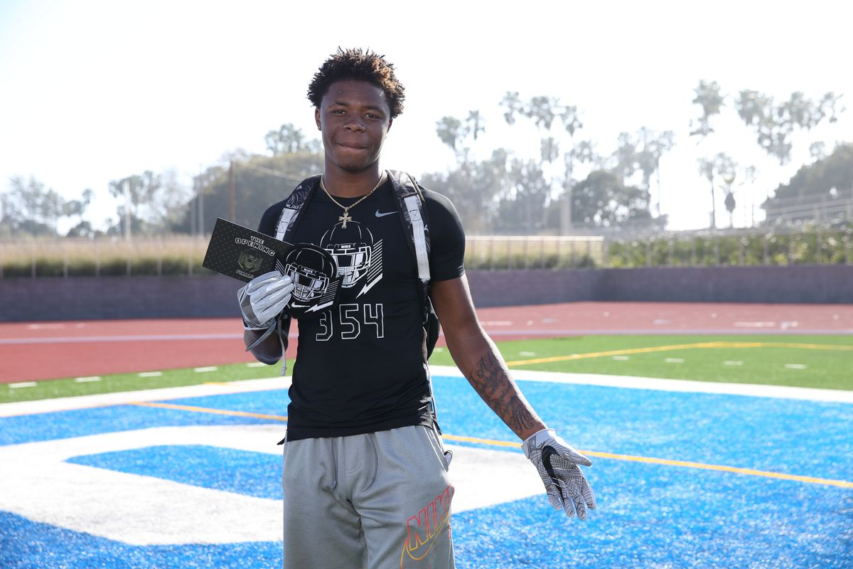 Warren G's son, five-star CB Olaijah Griffin, commits
