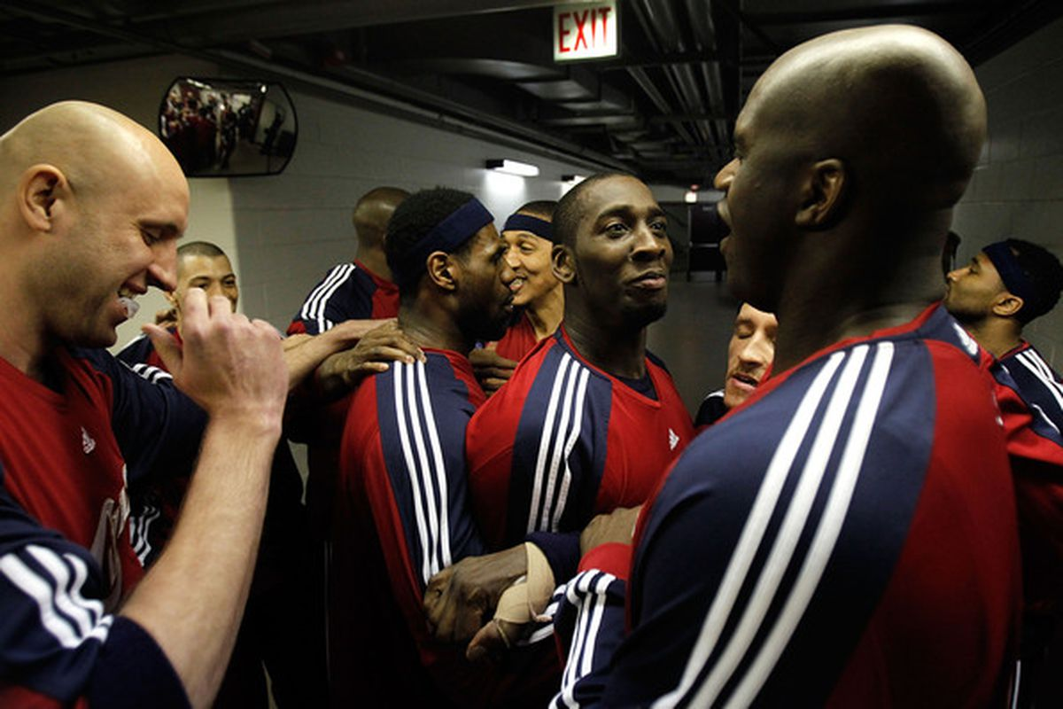 The team we knew from 2009-10 will looke drastically different with news that Zydrunas Ilgauskas could follow LeBron James to Miami (Photo by Jonathan Daniel/Getty Images)