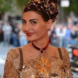 Giovanna Battaglia's award for Best Hair has been stolen