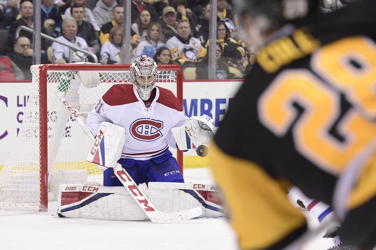 NHL: DEC 31 Canadiens at Penguins