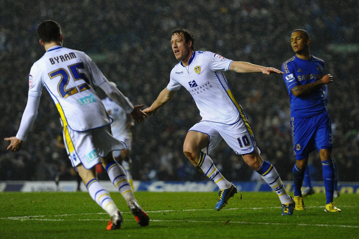 Luciano Becchio has been in fine form this season but now wants out of Leeds United.