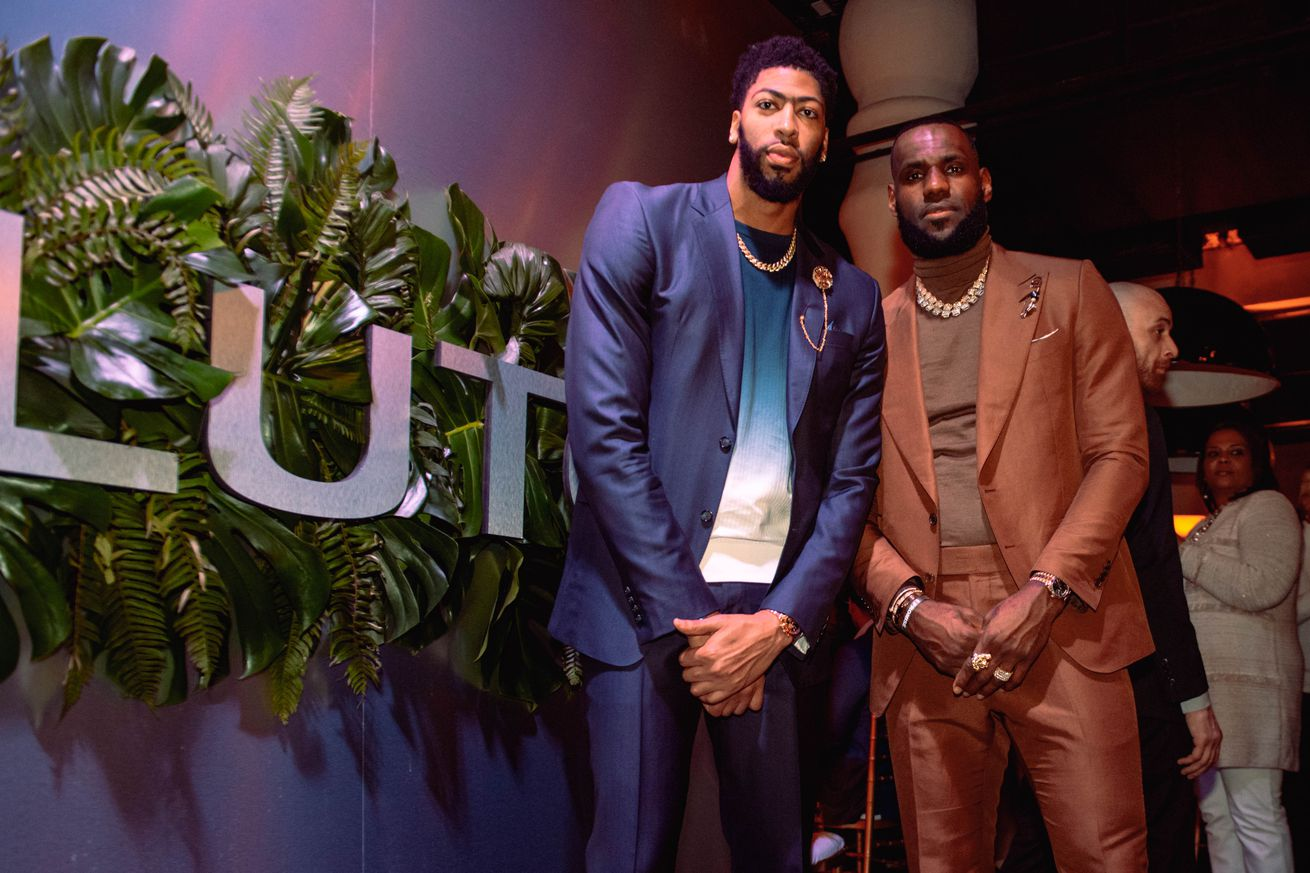 Game 61: A plan was in place for Anthony Davis to sit out tonight's matchup with LeBron James and Los Angeles Lakers in advance