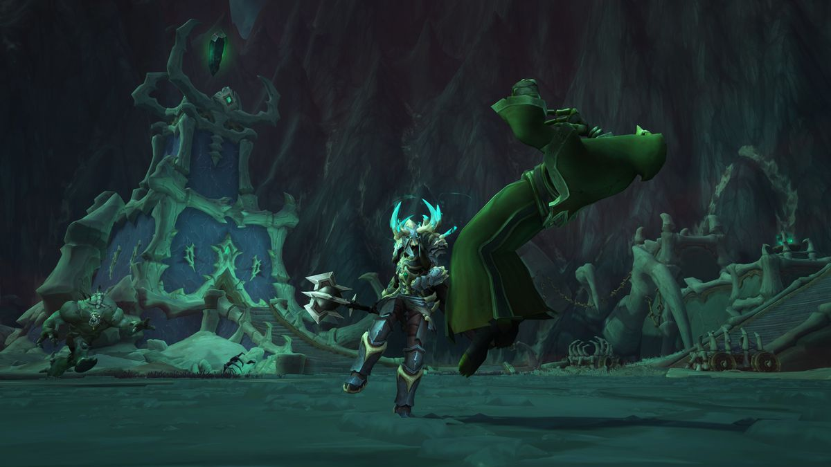 Shadowlands Maldraxxus attack
