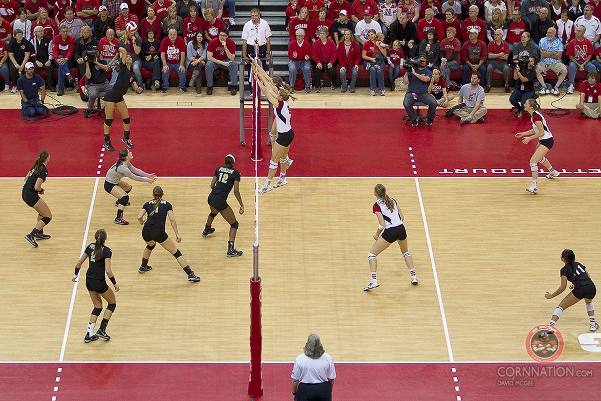 Gallery Photo: Nebraska vs. Purdue Volleyball: Gallery