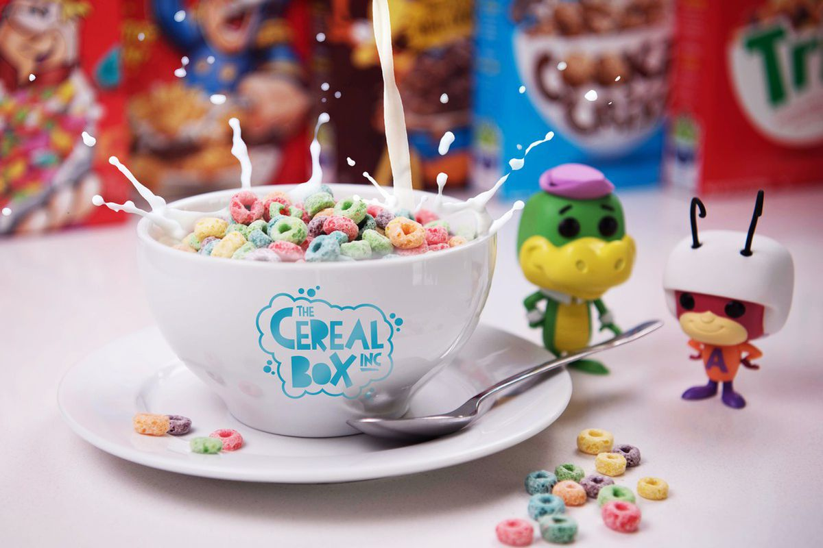 New cafe brings heaping bowls of cereal to arvada eater denver boxes of cereal toys vinyl and cartoons make a comeback at cereal box the cereal box ccuart Image collections