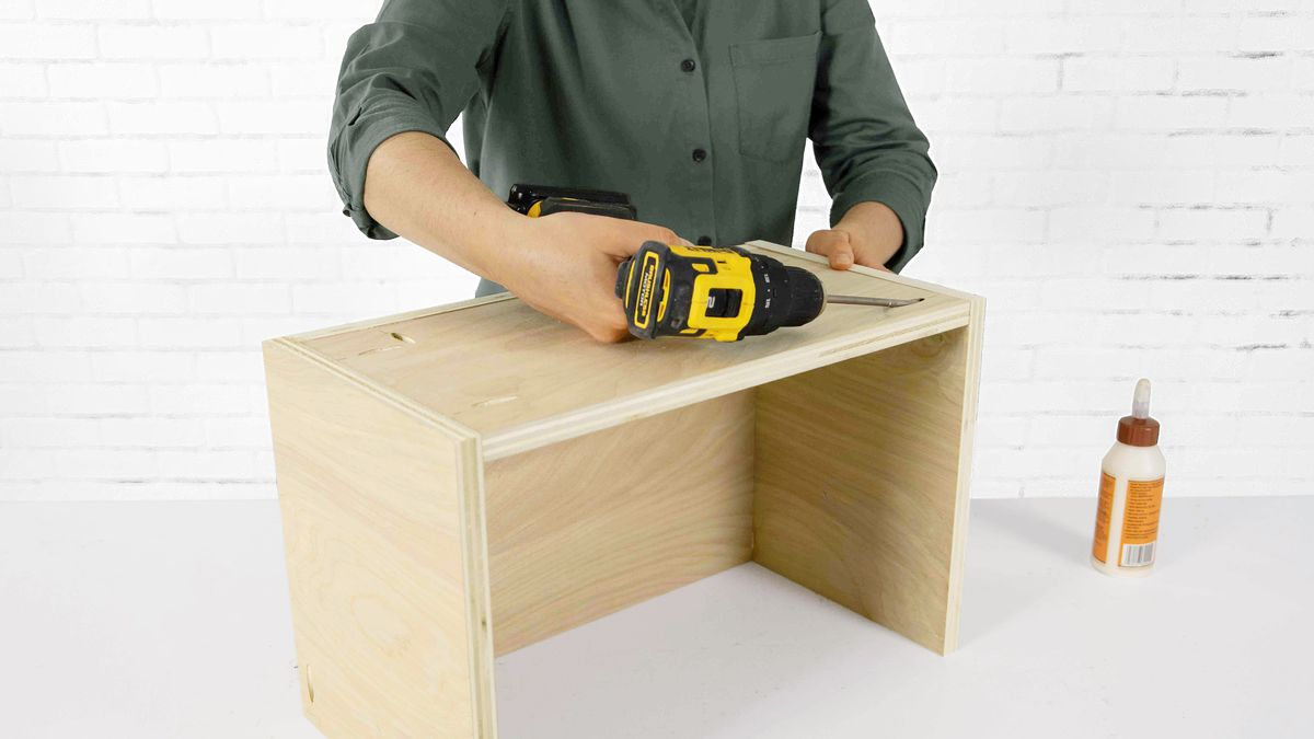 Fall 2021, Easy DIY, console cabinet, step 7