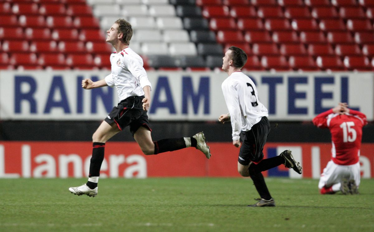 Soccer - FA Youth Cup - Quarter Final - Charlton Athletic v Sunderland - The Valley