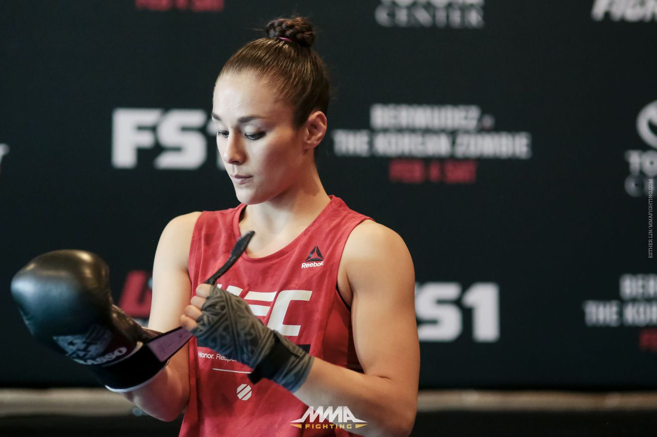 Alexa Grasso explains tough lessons she learned from first pro loss against Felice Herrig