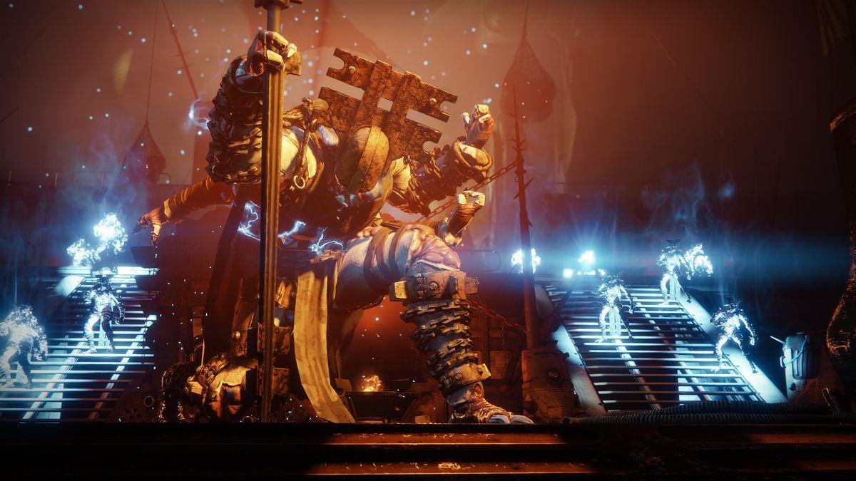 Destiny 2: Forsaken - a Baron on his throne