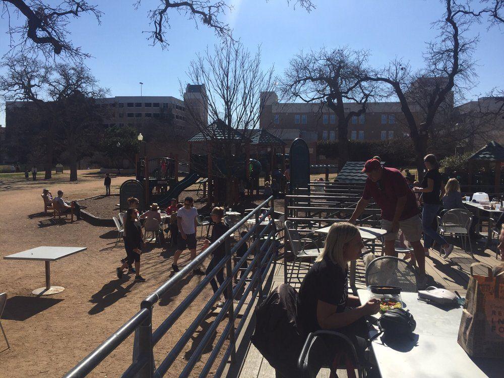 Central Market's playground