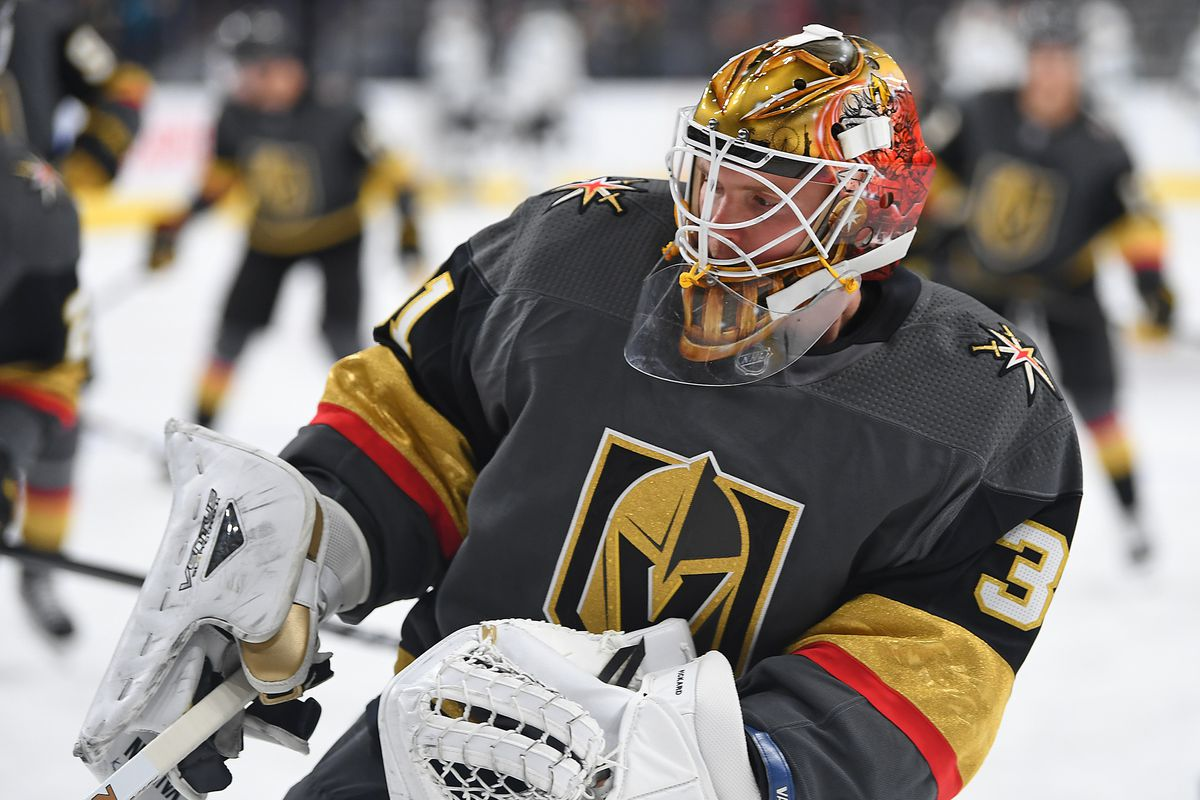 Golden Knights Waive Pickard Subban New Backup Goalie Knights On Ice
