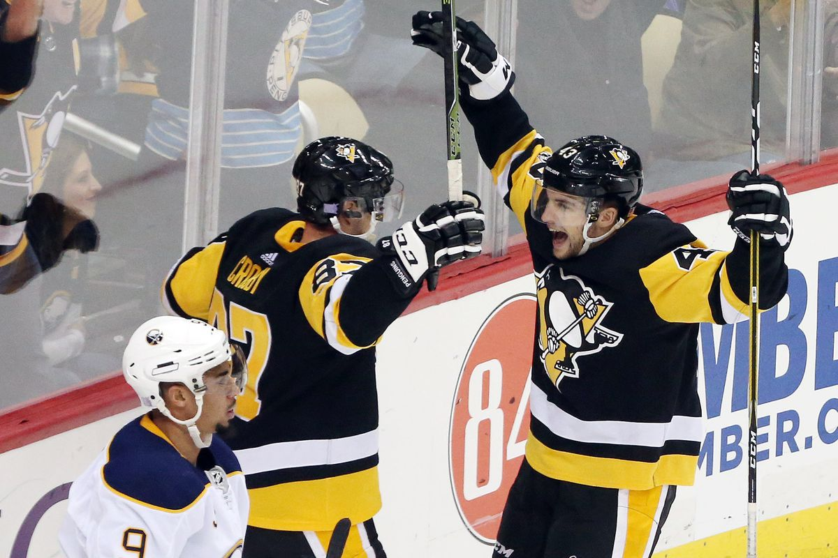 Sabres Fall To Penguins In Overtime Die By The Blade
