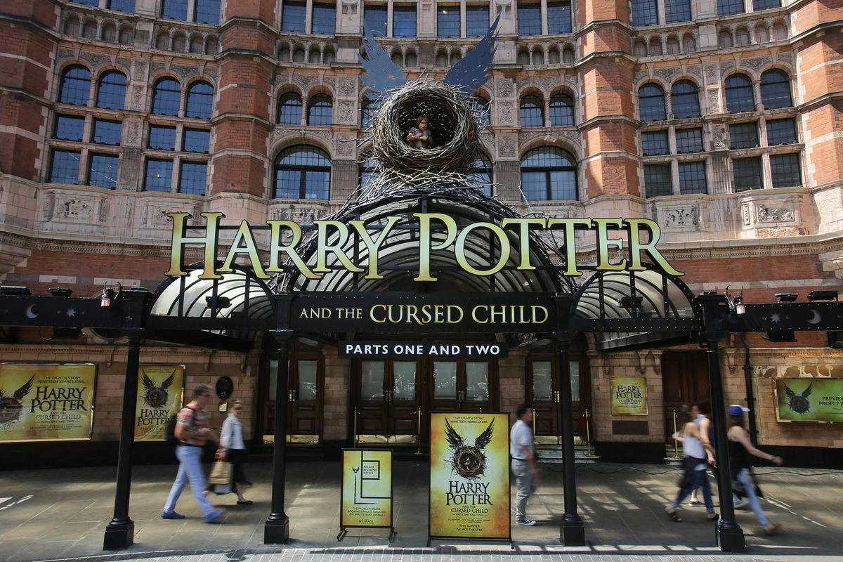 Harry Potter and the Cursed Child at the Palace Theatre in London