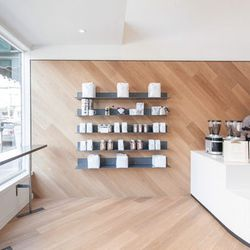"""Following all that heavy lifting (of those sparkling jewels), replace that beer buzz with a caffeine one from Saint Frank's Coffee at 2340 Polk Street. According to our sister site Eater, the store's <a href=""""http://sf.eater.com/archives/2013/10/21/saint_"""