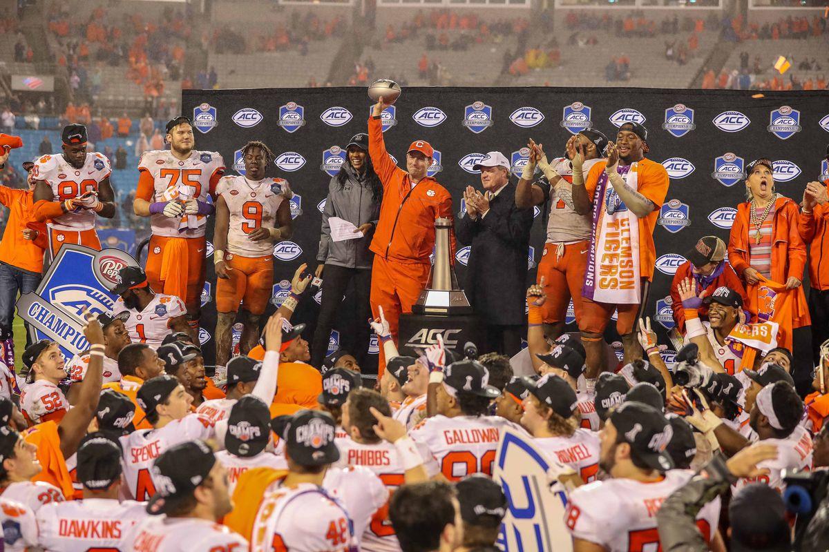 NCAA Football: ACC Championship-Clemson vs Pittsburgh