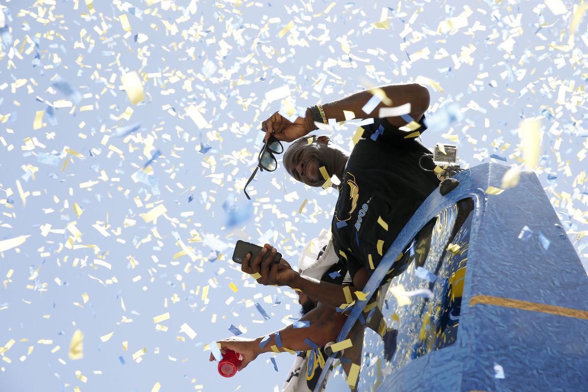 NBA: Golden State Warriors-Championship Parade