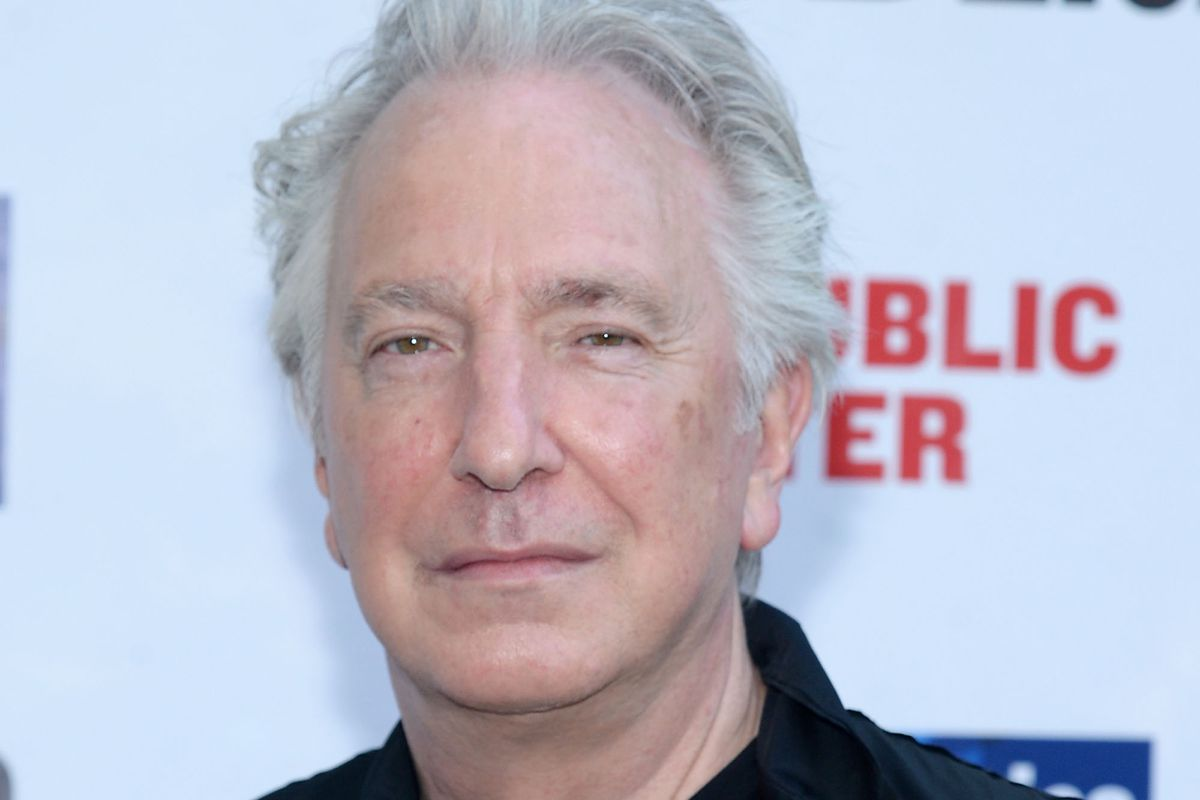 NEW YORK, NY - JUNE 09:  Actor Alan Rickman attends The Public Theater's Annual Gala at Delacorte Theater on June 9, 2015 in New York City.  (Photo by Ben Gabbe/Getty Images)