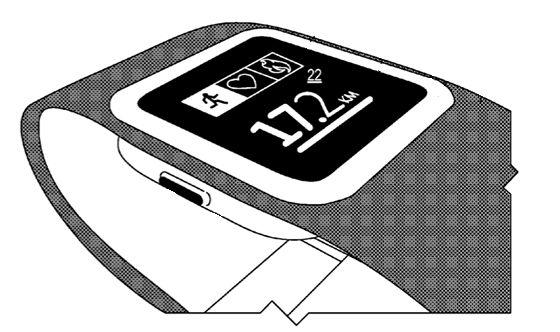 Microsoft smart band patent