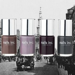 All of <strong>Nails Inc</strong>'s nail polishes are named after London landmarks, including Baker Street, Notting Hill Gate, and Piccadilly Circus.